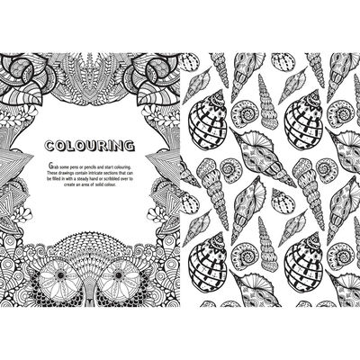 Art Therapy: Anti-Stress Colouring Book image number 2