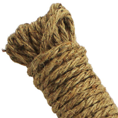 Thick Natural Jute Rope - 10m image number 3