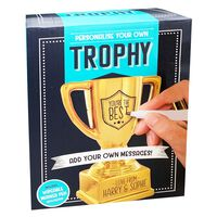 Personalise Your Own Trophy Kit