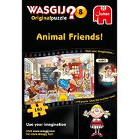 Wasgij Original 8 Animal Friends 150 Piece Jigsaw Puzzle