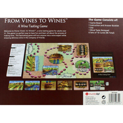 From Vines To Wines Adult Learning Board Game image number 4