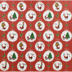 At Home with Santa Paper Pack - 12x12 Inch image number 2