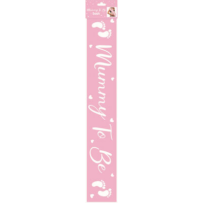 Mummy To Be Pink Sash image number 1