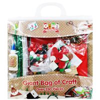 Giant Bag Of Christmas Craft
