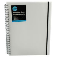 A4 White Display Book