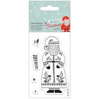 Santa Clear Stamp