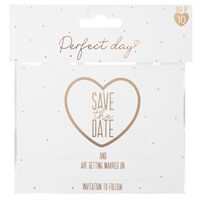 Save the Date Cards: Pack of 10