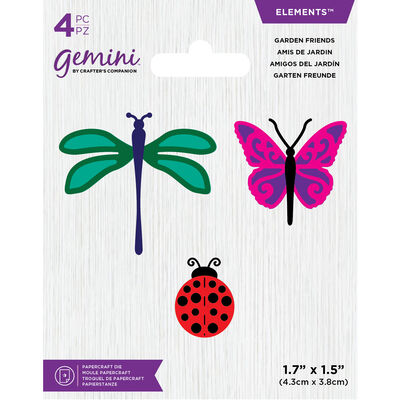 Gemini Mini Elements Die - Garden Friends image number 1