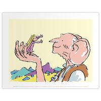 Roald Dahl The BFG Sophie Print
