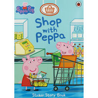 Peppa Pig: Shop with Peppa Sticker Book