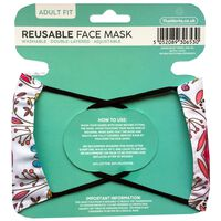 Paisley Reusable Face Mask