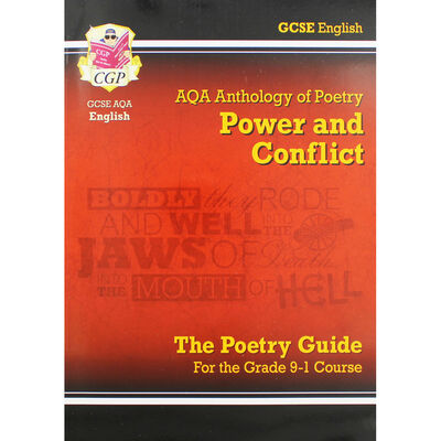 AQA Anthology of Poetry: Power and Conflict - The Poetry Guide image number 1