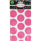 10 Pink Polka Dot Paper Favour Bags image number 1