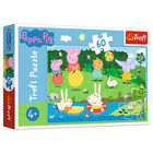 Peppa Pig Holiday Fun 60 Piece Jigsaw Puzzle image number 1