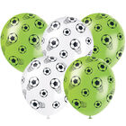 Football Latex Balloons Pack of 5 image number 1