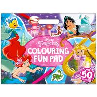 Disney Princess Colouring Fun Pad