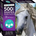 Horse Shaped 500 Piece Jigsaw Puzzle image number 1
