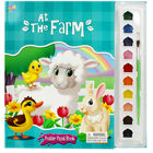 At the Farm Poster Paint Book image number 1