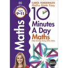 10 Minutes a Day Maths: Ages 9-11 image number 1