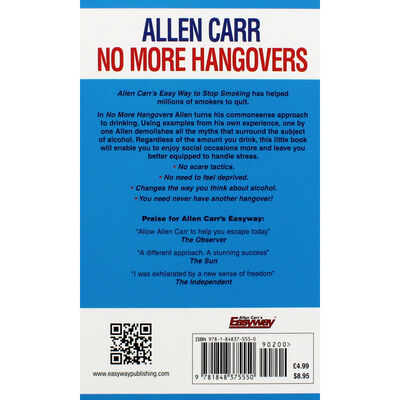 Allen Carr: No More Hangovers image number 3