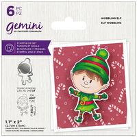 Gemini Stamp & Die Set: Wobbling Elf