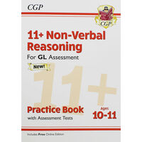 CGP 11+ Non-Verbal Reasoning: Ages 10-11 Practice Book
