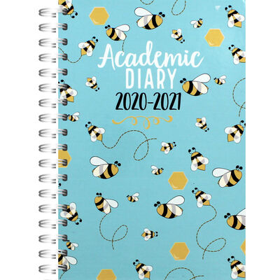 A5 Bees Day a Page 2020-21 Academic Diary image number 1