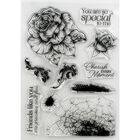 Crafter's Companion Collage Photopolymer Stamp - Cherish Every Moment image number 2