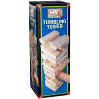 Mini Wooden Tumbling Tower
