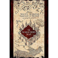 Harry Potter The Marauders Map Wall Poster