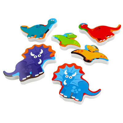 Chunky Wooden Puzzle - Dinosaurs image number 3