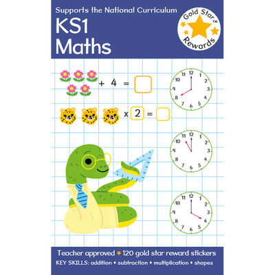 Gold Star Rewards KS1 Maths: Ages 5-7 image number 1