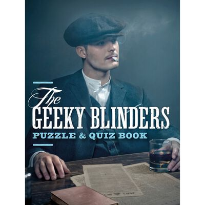 The Geeky Blinders Puzzle & Quiz Book image number 1