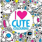 I Heart Cute Colouring image number 1