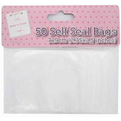 Self Seal Bags - Pack Of 50 image number 1