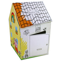 Colour Your Own Peppa Pig House