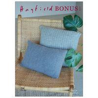 Hayfield Bonus DK: Grass Stitch Cushions Knitting Pattern 10254