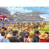 At the Races 500 Piece Jigsaw Puzzle
