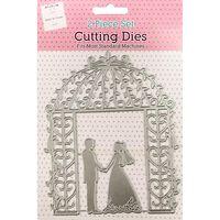 Wedding Couple Metal Cutting Die Set