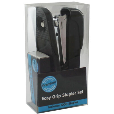 Assorted Easy Grip Stapler Set - 1000 Staples image number 2
