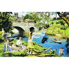 Riverbank Picnic 1000 Piece Jigsaw Puzzle image number 2