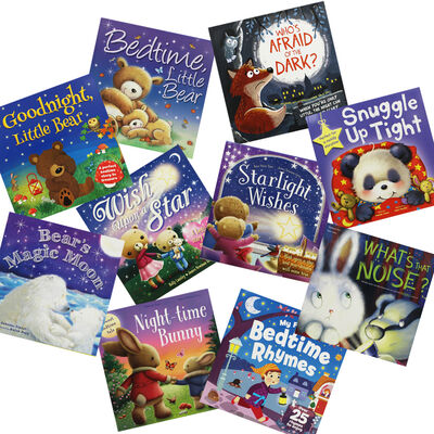 Comforting Bedtime Stories: 10 Kids Picture Books Bundle image number 1