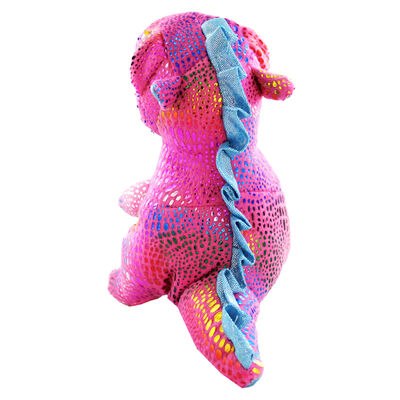 Pink Snuggly Dinosaur Plush image number 4