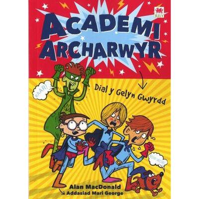 Cyfres Archarwyr: 1 Dial y Gelyn Gwyrdd image number 1