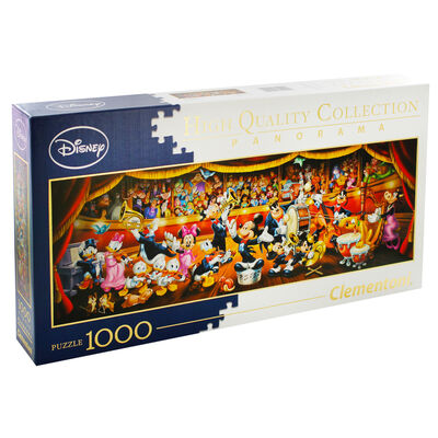 Disney Orchestra Panorama 1000 Piece Jigsaw Puzzle image number 1
