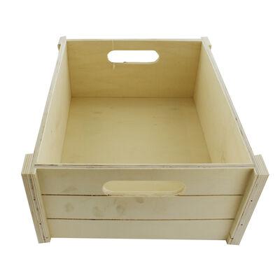 Large Wooden Crate Hamper image number 3