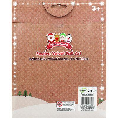 XMA20 Christmas Velvet Art Se image number 3