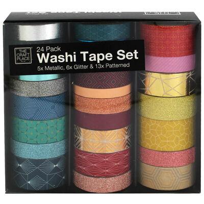 Washi Tape Set: Pack of 24 image number 1
