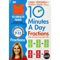 10 Minutes A Day: Fractions