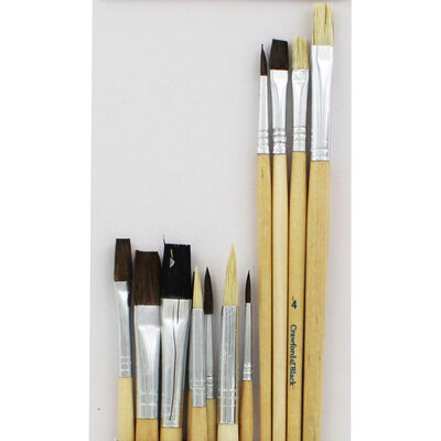 Crawford and Black Brush Assortment - 12 Pieces image number 2